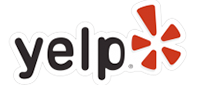 Yelp logo/link to Yelp reviews